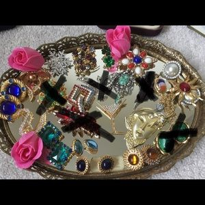 $65 Each,Assorted vintage brooch,Sarah coventry,